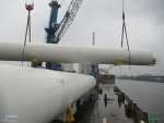 2x222tons LNG tanks in the port of Hamburg